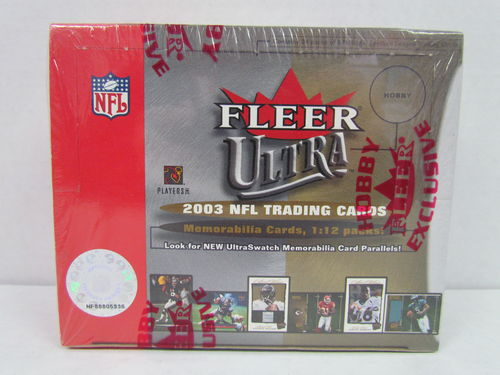 2003 Fleer Ultra Football Hobby Box