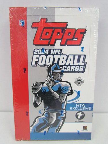 2004 Topps Football First Edition Box
