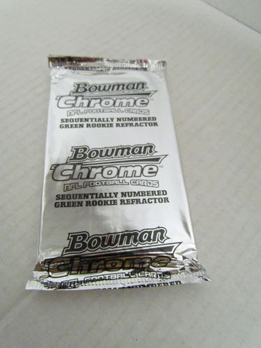 2005 Bowman Chrome Box Topper Football Pack