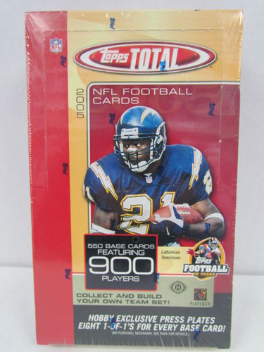 2005 Topps Total Football Hobby Box