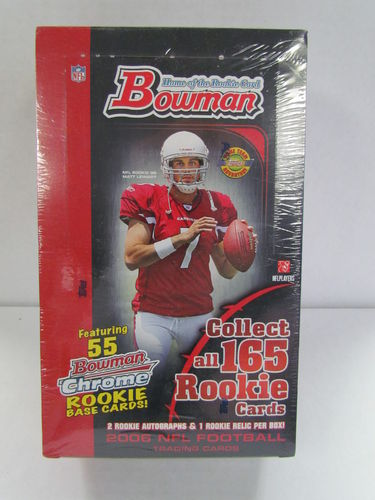 2006 Bowman Football Jumbo Box