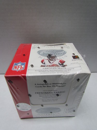 2006 Leaf Certified Materials Football Hobby Box