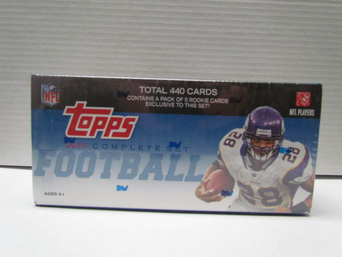 2010 Topps Football Factory Set