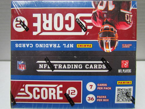 2012 Panini Score Football Retail Box