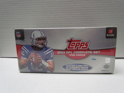 2012 Topps Football (Hobby) Factory Set