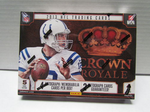 2013 Panini Crown Royal Football Hobby Box