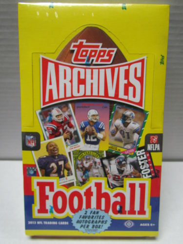 2013 Topps Archives Football Hobby Box
