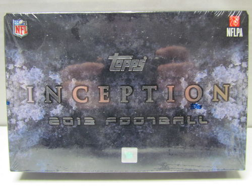 2013 Topps Inception Football Hobby Box