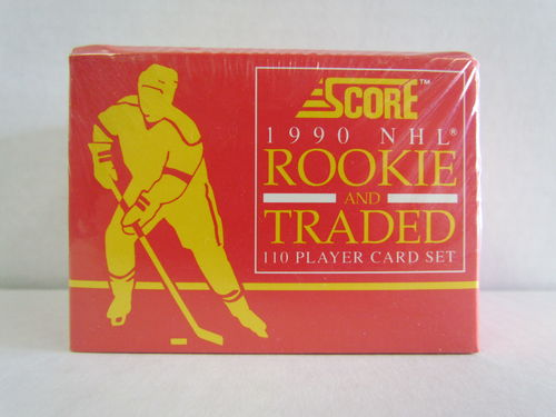 1990/91 Score Rookie and Traded Hockey Factory Set