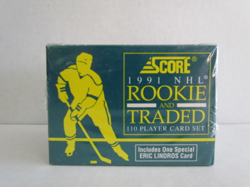 1991/92 Score Rookie and Traded Hockey Factory Set