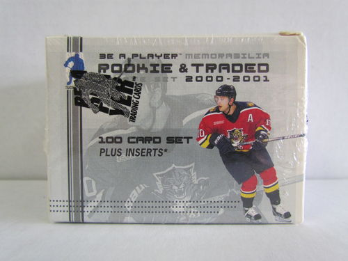 2000/01 Be A Player Rookie & Traded Update Memorabilia Hockey Factory Set