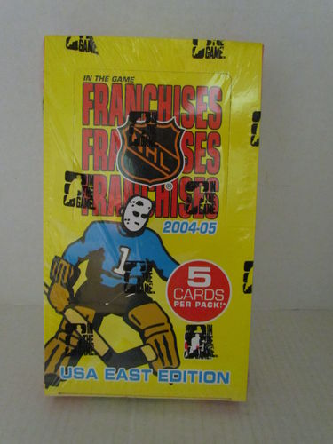 2004/05 In The Game Franchises USA East Hockey Hobby Box