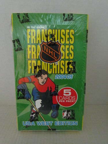 2004/05 In The Game Franchises USA West Hockey Hobby Box