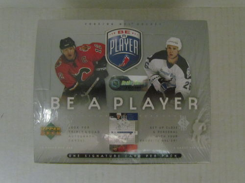 2005/06 Upper Deck Be a Player Hockey Hobby Box