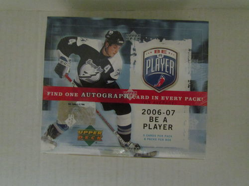 2006/07 Upper Deck Be a Player Hockey Hobby Box