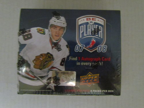 2007/08 Upper Deck Be A Player Hockey Hobby Box