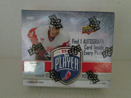 2008/09 Upper Deck Be A Player Hockey Hobby Box