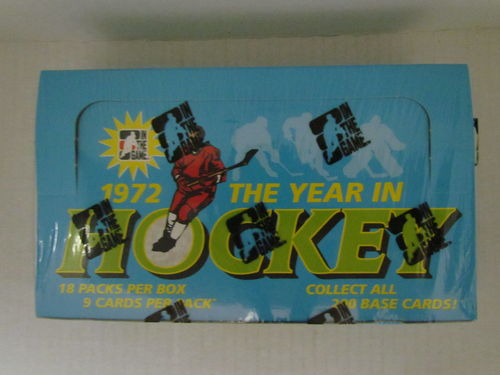 2009/10 In The Game The Year in Hockey (1972) Hobby Box