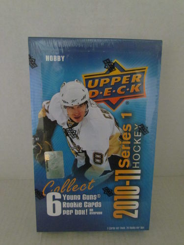2010/11 Upper Deck Series 1 Hockey Hobby Box