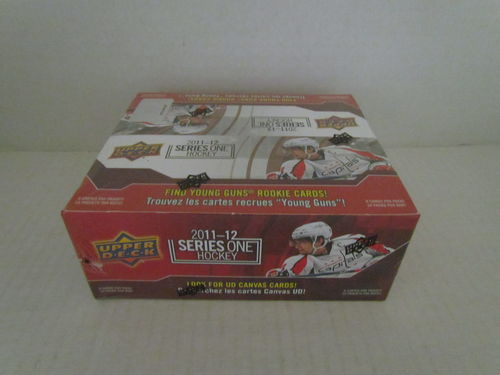 2011/12 Upper Deck Series 1 Hockey Retail Box