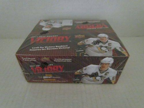 2011/12 Upper Deck Victory Hockey Hobby Box