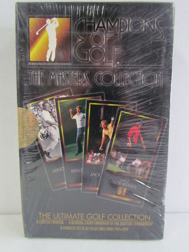 1997 Grand Slam Ventures The Masters Collection Golf Set (Black Box)