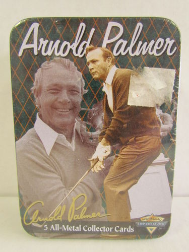Metallic Impressions Arnold Palmer Collector Tin