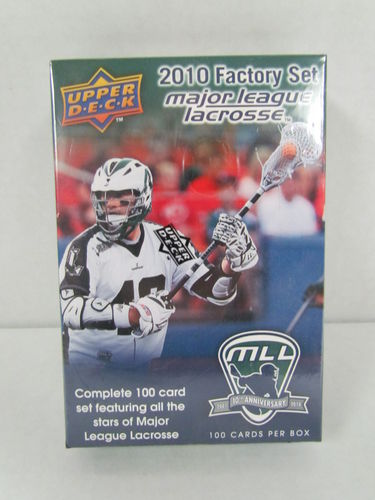 2010 Upper Deck Major League Lacrosse Factory Set