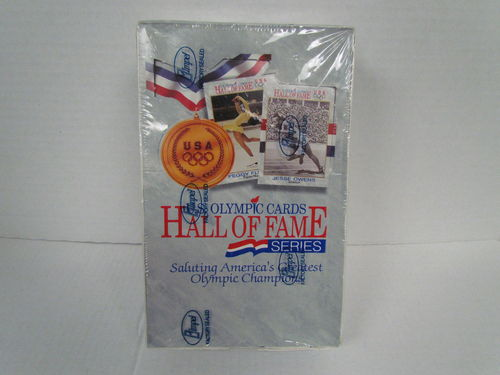 Impel U.S. Olympic Hall of Fame Series Cards Box