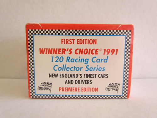 1991 Winner's Choice First Edition Racing Set