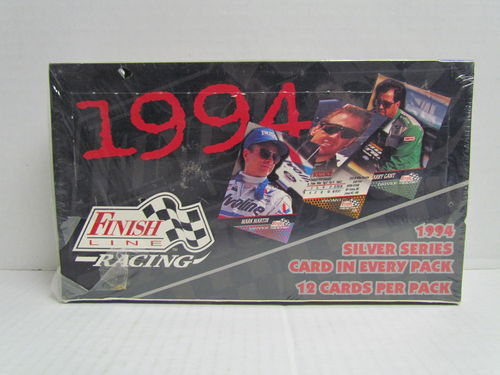 1994 Finish Line Silver Series Racing Hobby Box
