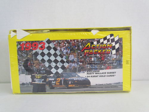 1993 Action Packed Series 3 Racing Box