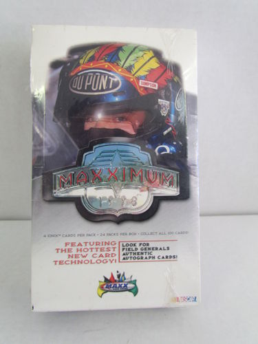1998 Upper Deck Maxx Maxximum Racing Hobby Box