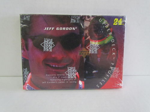 1996 Upper Deck Profiles Jeff Gordon Set