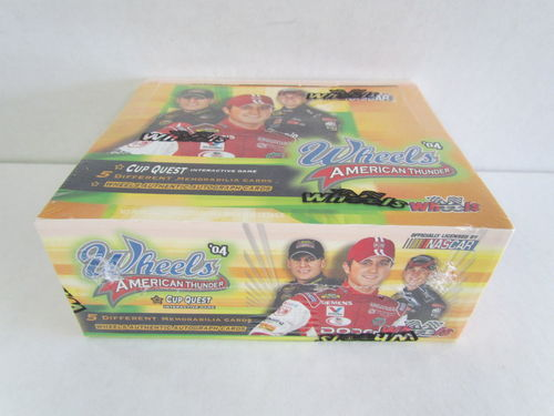 2004 Press Pass Wheels American Thunder Racing Hobby Box