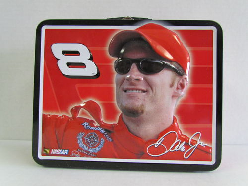 2004 Tin Box Company Dale Earnhardt Jr. Lunch Box #8