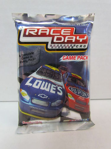 2005 Wiz Kids Race Day Constructable Racing Game Pack
