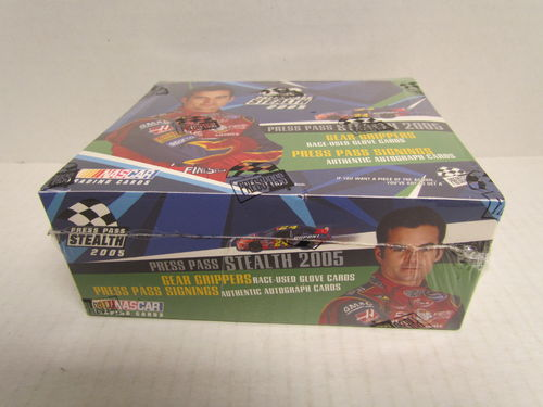 2005 Press Pass Stealth Racing Hobby Box
