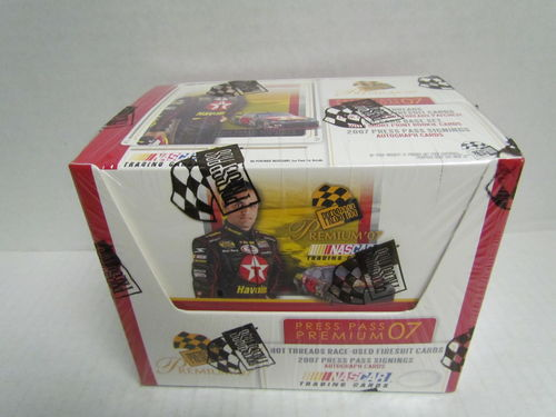 2007 Press Pass Premium Racing Hobby Box