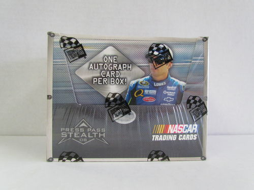 2008 Press Pass Stealth Racing Hobby Box