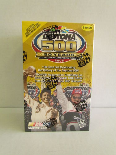 2008 Press Pass Daytona 500 Box Set