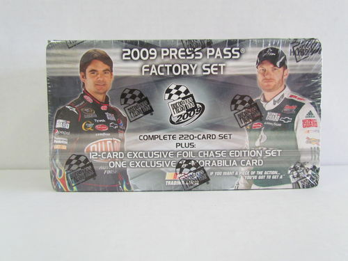 2009 Press Pass Racing Factory Set