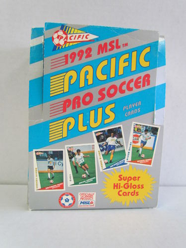 1992 Pacific Soccer Hobby Box