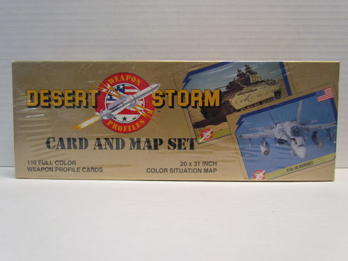 AMP Desert Storm Card and Map Set