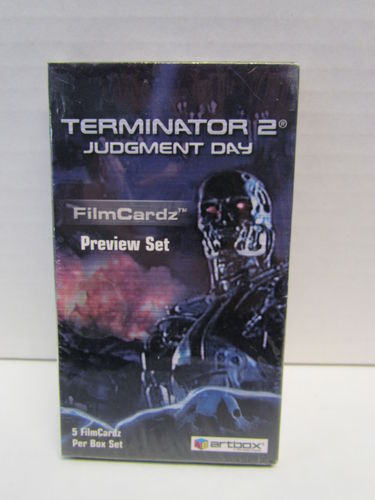 Artbox Terminator 2 Judgement Day Preview Set