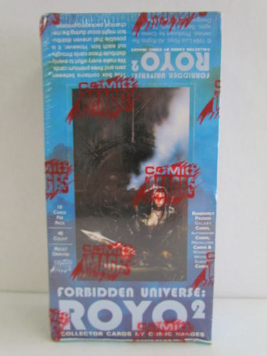Comic Images Luis Royo Series 2 (Forbidden Universe) Box