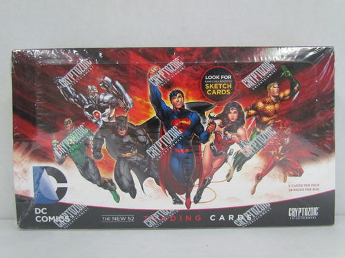 Cryptozoic DC Comics The New 52 Trading Cards Box