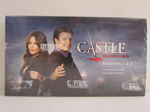 Cryptozoic CASTLE Seasons 1 & 2 Trading Cards Box