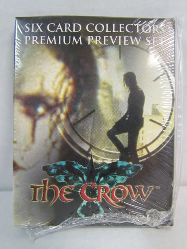 Dynamic Forces The Crow Six Card Collectors Premium Preview Set
