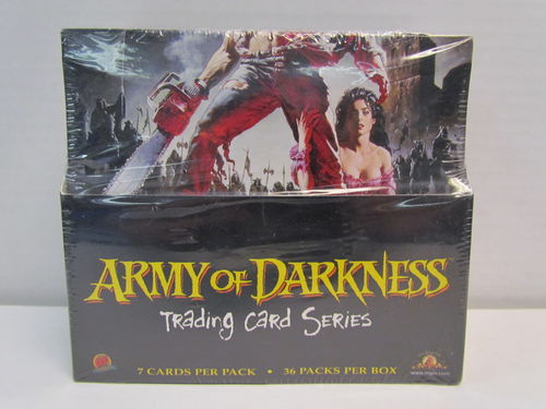 Dynamic Forces Army of Darkness Trading Cards Box